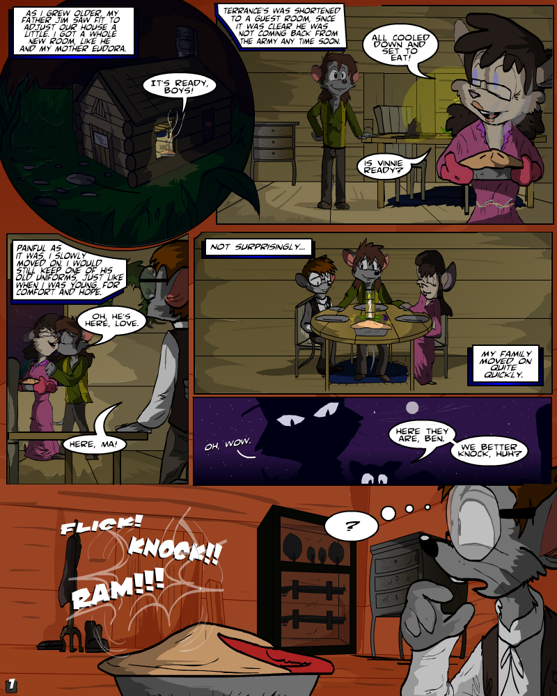Issue 5, page 1